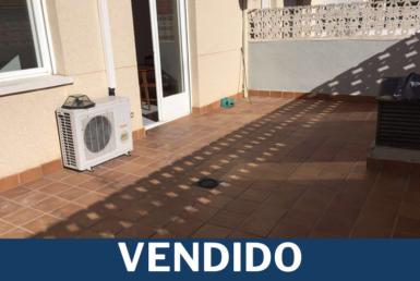 vendido piso colmenarejo con terraza